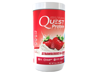 Quest Protein - Strawberries & Cream 907 gram