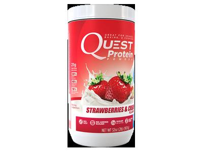 Strawberries & Cream 907 gram