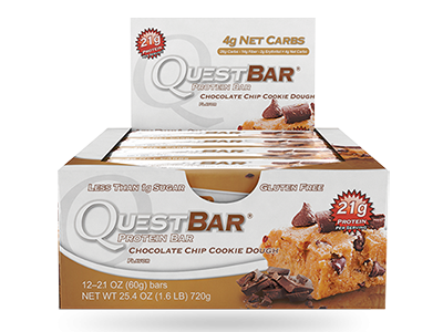 Quest Bar - Chocolate Chip Cookie Dough