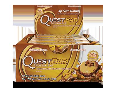 Quest Bar – Chocolate Peanut Butter