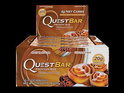 Quest Bar - Cinnamon Roll