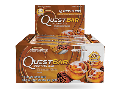 Quest Bar – Cinnamon Roll