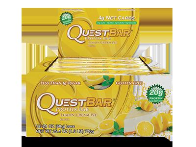 Quest Bar – Lemon Cream Pie