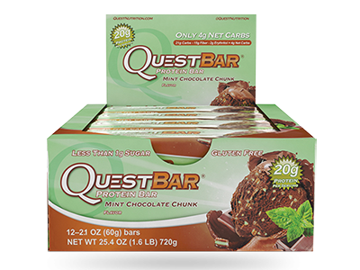 Quest Bar - Mint Chocolate Chunk