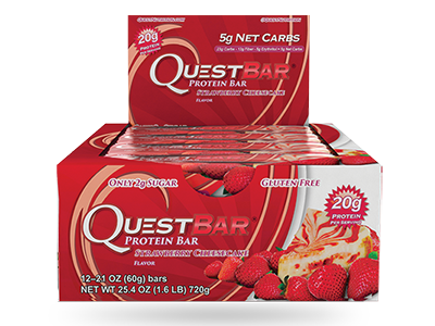 Quest Bar – Strawberry Cheesecake